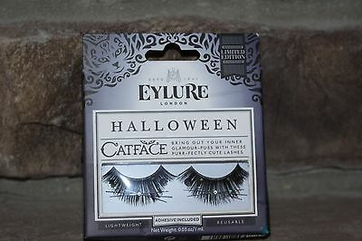 Eylure Halloween Cat Face Limited Edition Cute Lashes Adhesive Included