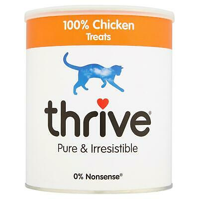 Thrive Chat 100% Poulet Friandise Maxitube - 200g - Real Naturel Lyophilisé