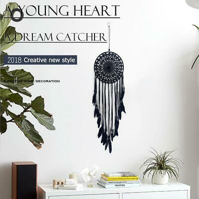 ​Feathers Beads Handmade Dreamcatcher Craft Dream Catcher Net Gift Home Decro H2