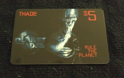 Blockbuster Video - Planet of the Apes Thade Gift Card (No Value)