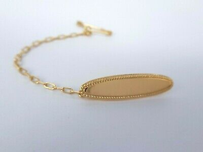 Miran 160867 9K Yellow Gold Baby Brooch  Oval  RRP$199