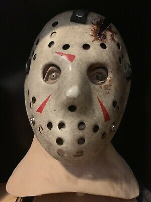 Jason Voorhees Latex Mask Bust Halloween Prop Hockey Not Freddy Myers Pennywise