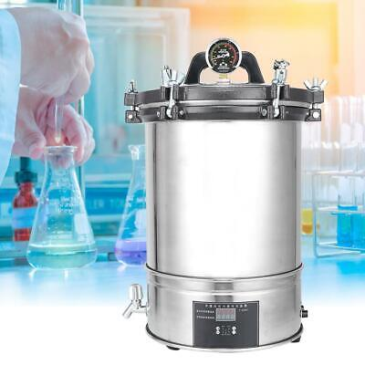 280CB 18L Stainless Steel Autoclave Sterilizer High Pressure Sterilizing Device