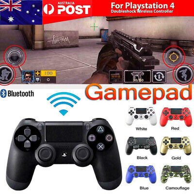 AU Wireless Bluetooth DualShock Playstation 4 Controller For Sony PS4 Gamepad