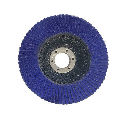 4 Inch 100MM Cubic Zirconia Polished Flap Disc Angle Grinder Wheels Grit 80