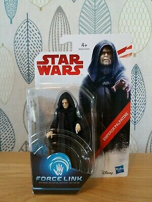 Star Wars Force Link Emperor Palpatine 3.75 Figure Brand New & Sealed