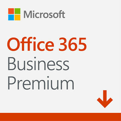 Microsoft Office 365 Business Premium Digital Delivery - 1 User - PC/Mac - 1 ...