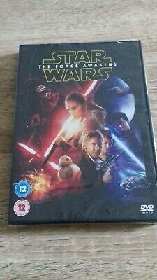 Star Wars: The Force Awakens DVD (2016) NEW SEALED