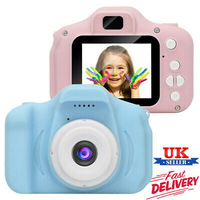 Mini Kids Digital HD Camera 2.0 Inch LCD Camcorder Child Girl boy Birthday Gift