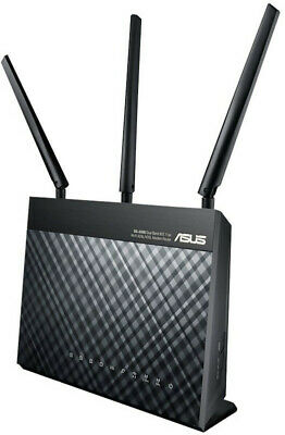 Asus - DSL-AC68U - Dual-Band Wireless-AC1900 Gigabit ADSL/VDSL Modem Router