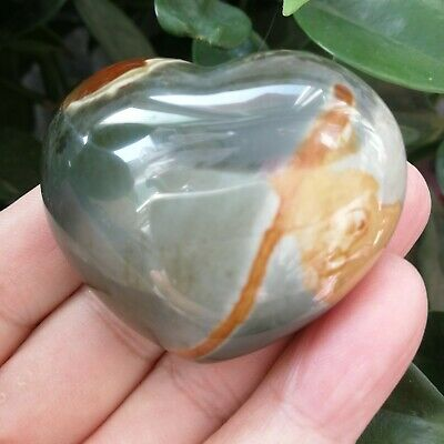 91.8g Natural Energy Stone Sea Stone Ancient Rock Specimen Heart-shaped