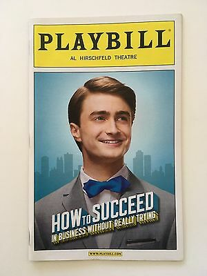How To Succeed In Business Without Really Trying Playbill Broadway - June 2011