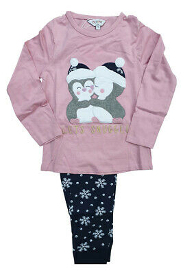 Girls Pyjamas Let's Snuggle nightwear pyjama set sleepwear long sleeve