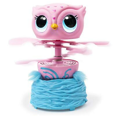 Spinmaster Owleez Flying Baby Owl Interactive Toy with Lights and Sounds UK