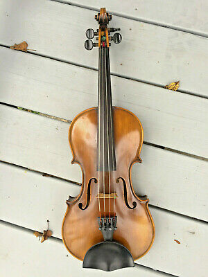 ca 1915 Suzuki Violin (Japan) 4/4, restored, beautiful wood, hear it played!