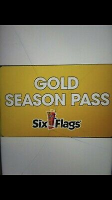 (4) 2019 Gold Season Pass to Six Flags Magic Mountain. QUICK SELL