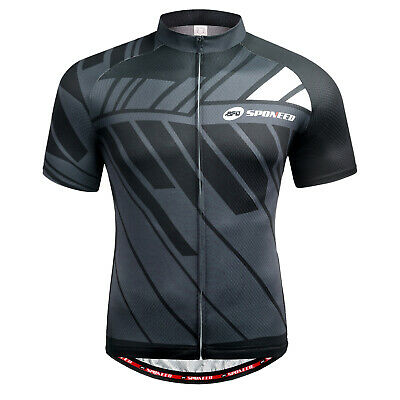Team Bike Shirt MTB Road Cycling Jersey Breathable Cycle Tops Race Fit US S