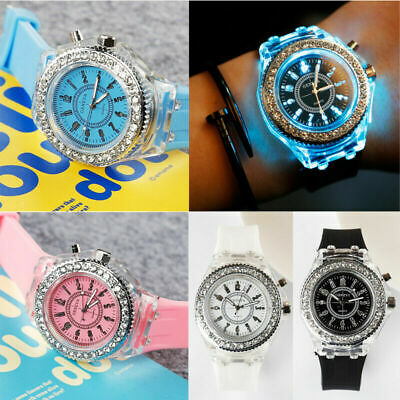 Kids Watches LED Light Flashing Boys Girls Children Watch Toys Gift Wristwatch