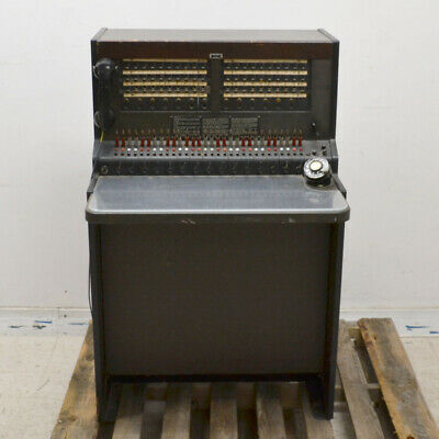 Antique Western Electric Bell System Telephone Switchboard Phone Operators Desk
