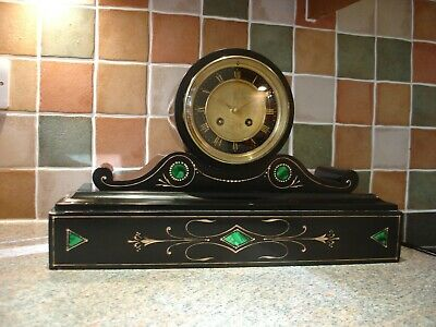 Victorian 8 day French mantle clock