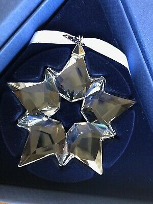 Swarovski Crystal Annual Edition 2019 Christmas Star Ornament