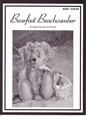 Bearfoot Beachcomber  - Bear pattern - Dawn Nicholl