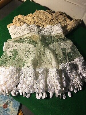 Vintage Victorian Lace Collars Handmade From The Thirities Excellent Condition