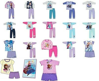 Girls pyjamas Disney Frozen 2 nightwear toddler pyjama set fleece blanket