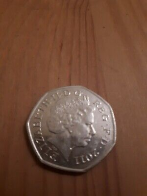 LONDON 2012 OLYMPIC GAMES Handball 50P PENCE COIN DATED 2011