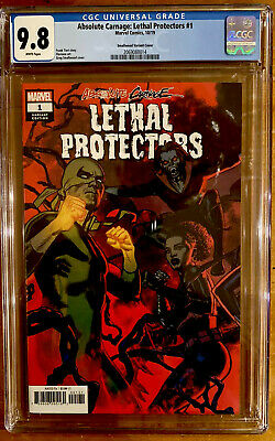 Absolute Carnage:lethal Protectors #1 Cgc 9.8 Smallwood Variant (2019) Nm