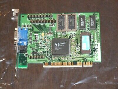 Diamond Stealth 64 Video 2001 PCI VGA video card vintage 1995