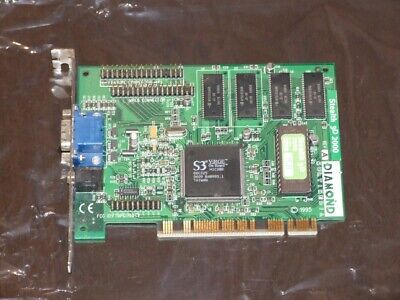 Diamond Stealth 3D 2000 PCI VGA video card vintage 1996