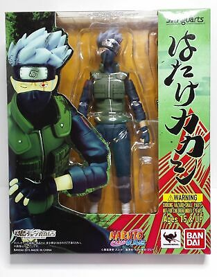 S.H.Figuarts Naruto Shippuden Hatake Kakashi Action Figure AUTHENTIC & Brand New