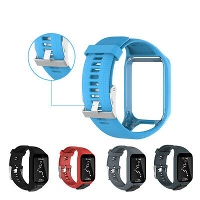 Replacement Silicone Band Strap for TomTom Runner 2 / 3 Spark/3 Sport GPS Watch