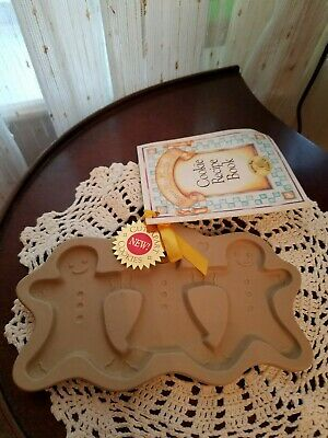 Brown Bag Cookie Art 1995 Gingerbread Cut Aparts Mold Cookie Candy