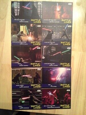7Topps Star Wars Journey to The Rise of Skywalker Battle Lines singles