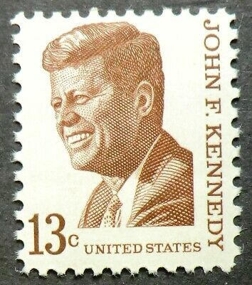 1287 MNH 1967 13c John F Kennedy 1st Catholic President Peace Corps Civil Rights