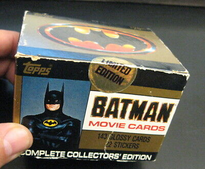 Topps BATMAN 1989 Movie Collector Cards, Sealed Box!