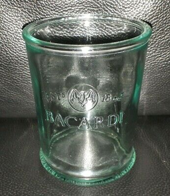 Rare Collectable Bacardi Rum Glass In Great Used Condition