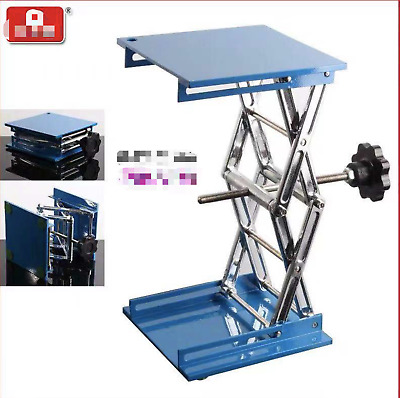 Laboratory Jack 100*100mm 150*150mm 200*200mm  In Size 52-310mm In Max Height
