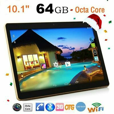 Tablet 10.1 inch Octa Core 64 GB Rom 4 GB Ram Android 6.0 Dual Sim NEW Lot on