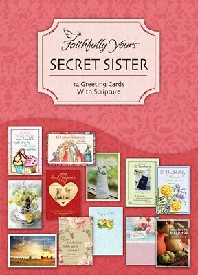 Card-Boxed-Secret Sister (Box Of 12)
