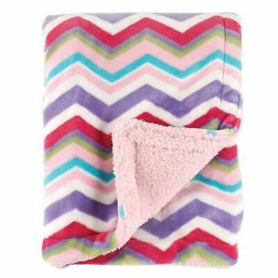 Hudson Baby Girl Double Layer Blanket, Pink