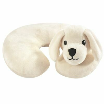 Hudson Baby Boy and Girl Travel Neck Support Pillow, Tan Puppy