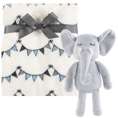 Xiaoyu Lovely Animal Security Toddler Blankets for Boys and Girls Gift for Newborn//Infant Elephant