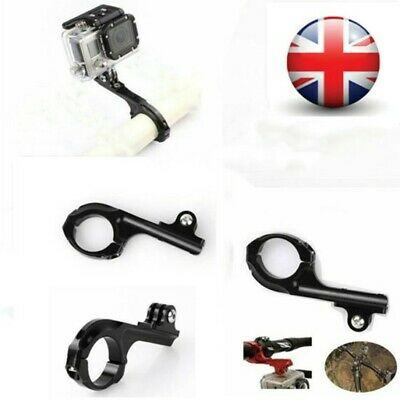Aluminum Bike Handlebar Bar Holder Mount Adapter For GoPro HD Hero Action Camera