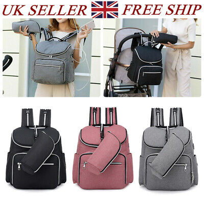 Multi-Function Tote Baby Mummy Changing Bags Diaper Nappy Rucksack Backpack NEW