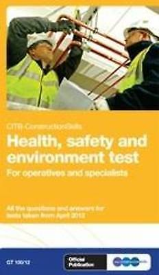 Health, Safety & Environment Test for Operatives & Specialists: GT100/14, for Op