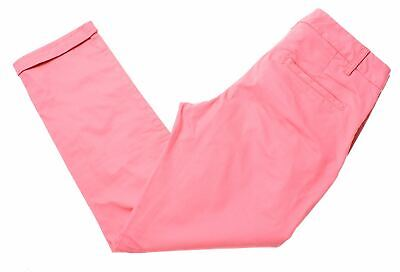 FAT FACE Womens Trousers Size 6 W25 L24 Pink Cotton Vintage N204