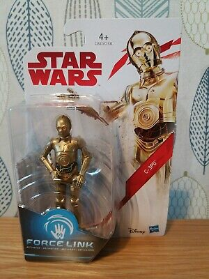 Star Wars Force Link C-3PO 3.75 Figure Brand New & Sealed The Last Jedi